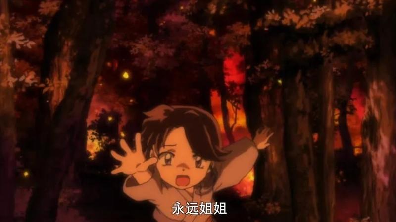 《半妖的夜叉姬》第2话详解:一个在上学,一个在打怪