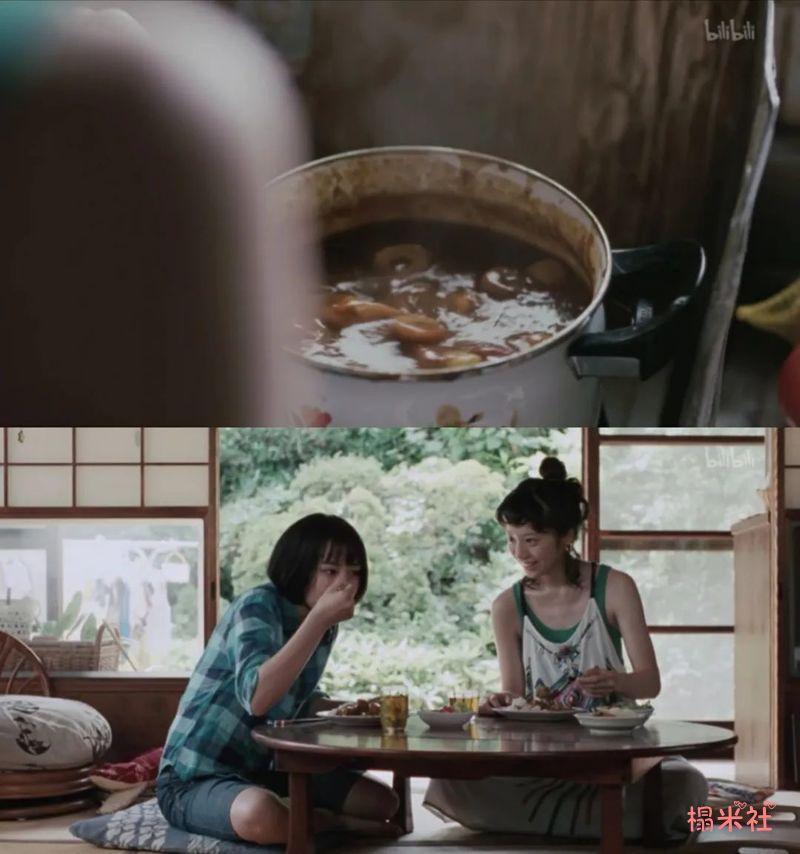 《海街日记》:长泽雅美带你品味儿时的美食,温暖的回忆