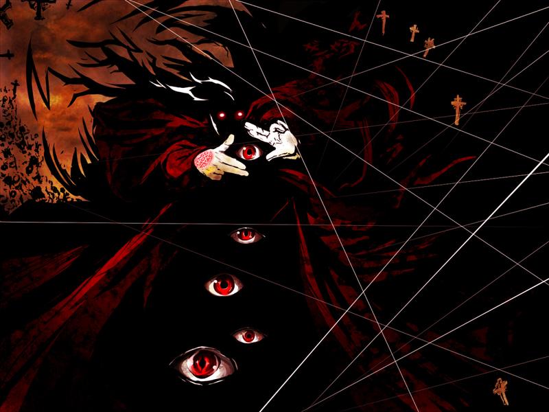 《Hellsing》评价:一部类似《鬼灭之刃》的热血动漫,杀怪杀出暴力美学