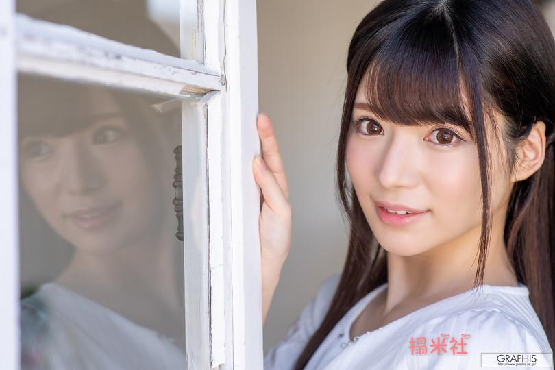 [graphis gals]无圣光高清图集: Nodoka Sakuraba 桜羽のどか,20岁的腼腆柔滑