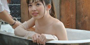 [graphis gals]无圣光高清图集: Izuna Maki 槙いずな:沐浴服美女